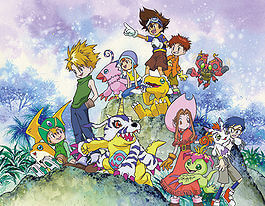 Digimon Adventure cover