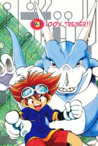 Digimon V-tamers covers